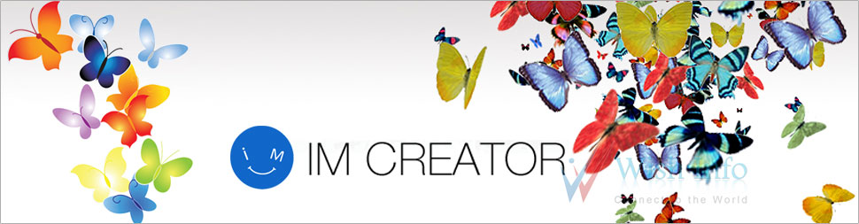 Custom IM Creator Website Design