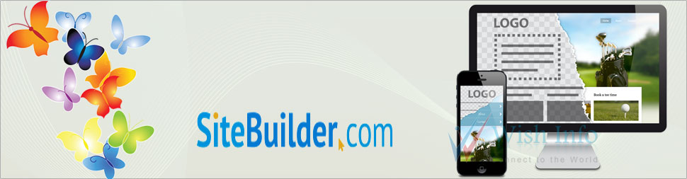 Custom SiteBuilder Website Design