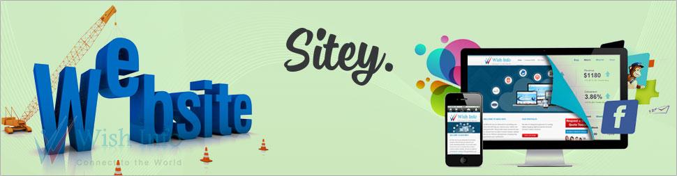 Custom Sitey Website Design