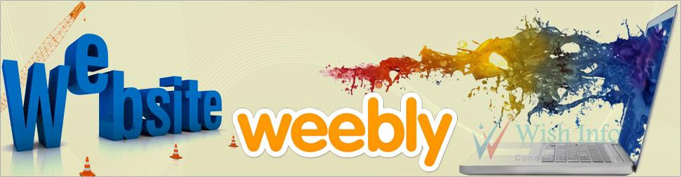 Custom Weebly Website Design