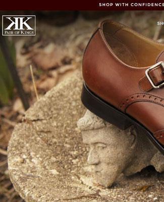 Pair of Kings Shoes